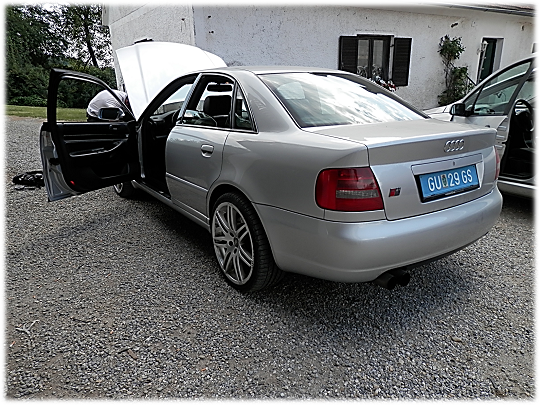 hmcars audi s4 b5 limo. Black Bedroom Furniture Sets. Home Design Ideas